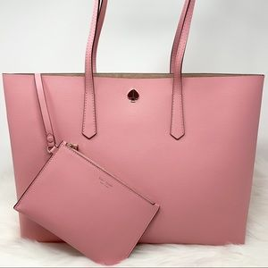 Kate spade molly large tote rococo pink tote new